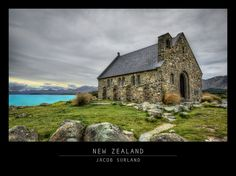 This tiny church probably has one of the most scenic views on the planet. It looks like something in Scotland, but it is in New Zealand. CC-NC.