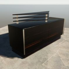 Model of modern and minimalistic wooden TV Stand. Black American Cherry wood with chrome handles for your interior idieas. - Model comes with Textures - Full UV unwrap. - 5 named materials. - Suitable for games assets. Wood Furniture, Outdoor Furniture, Outdoor Decor, Wooden Tv Stands, Chrome Handles, Wood Sculpture, Wood Design, Wood Paneling, Minimalist