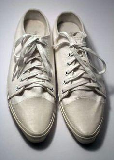 pointed toe trainers • y's yohji yamamoto