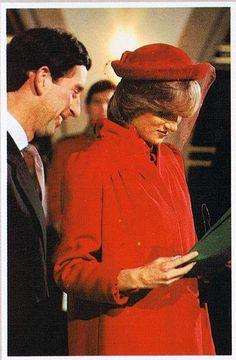 Princess Diana, December 21, 1981