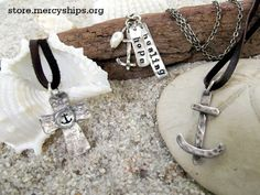 We are very excited to offer a brand new selection of handcrafted and unique #jewelry in our #OnlineStore! All elements in this necklace are sterling silver and all proceeds of the purchase goes towards supporting Mercy Ships! http://store.mercyships.org/Merchandise_s/56.htm
