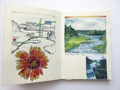 JaneVille: From my sketchbook ~ Madeline Island School of the Arts