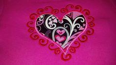 Girls Valentines Heart shirt so CUTE by Prettyinpinkbiz on Etsy, $17.00