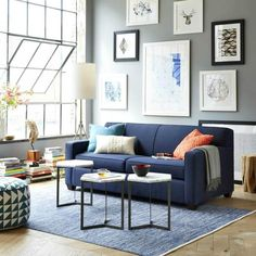 6 Small Living Room Design Tips and Ideas - Des Home Design Decor, Furniture, Small Living Rooms, Room, Small Living Room, Home Decor, Living Room Grey, Interior Design Living Room, Interior Design