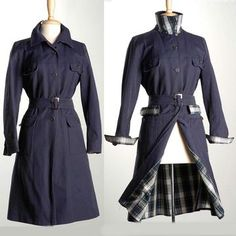 '60s Saks Trench Coat M, $176, now featured on Fab.