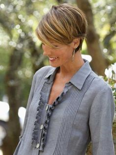 This pixie very short haircut model will rule the 2014-2015. Description from short-hairstyles.co. I searched for this on bing.com/images