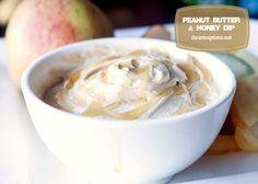 Peanut Butter & Honey Dip I Heart Nap Time   I Heart Nap Time - Easy recipes, DIY crafts, Homemaking #recipe #dip #sweet #snack