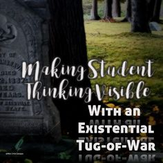 The Tug-of-War thinking routine will elevate literature conversations with your students. It did with mine! Tuck Everlasting, and existential tug-of-war, and honoring Natalie Babbitt.