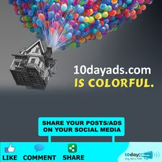 10dayads.com is COLORFUL. #AdvertiseForFree #FreeAdsPosting