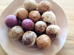 Colourful Cacao & Coconut Blissfood Balls – Vibrant Nutrition Rich In Protein, Snacks For Work, Superfoods, Sugar Free, Balls, Coconut, Vibrant, Nutrition, Lunch