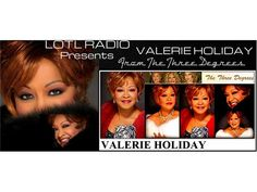 LOTL Welcomes Valerie Holiday of The Three Degrees 11/14 by LOTLRADIO THE QUIET STORM   Entertainment Podcasts