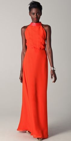 b95e5946e6a Raoul Sleeveless Gown with Leather Detail thestylecure.com Tailgate Outfit