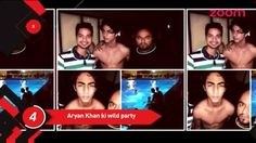 Shah Rukh Khan's son, Aryan partied with his friends in California!   If you want an inside look into the party, then make sure to watch the video now :D