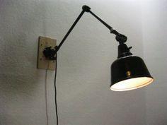 Nice Details zu MIDGARD Lampe Gelenkarmlampe Tischlampe Werkstattlampe BAUHAUS LAMPE