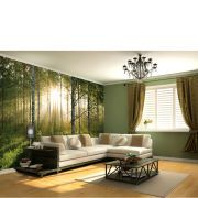 #1 Wall Forest Scene Wall Mural #Transform any room in the home with the commanding and arresting Forest Scene wall mural. The visually striking piece of wall art features a landscape of trees set amongst an area of green, bringing the outdoors in and adding a contemporary yet peaceful feel. The mural comes in 4 easy to hang pieces, measuring 3.15 metres wide and 2.32 metres high, for statement making decor. - R.K. Features: Wall mural of a forest scene Comes in 4 easy to hang pieces Make a…