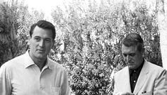 Rock Hudson and Cary Grant
