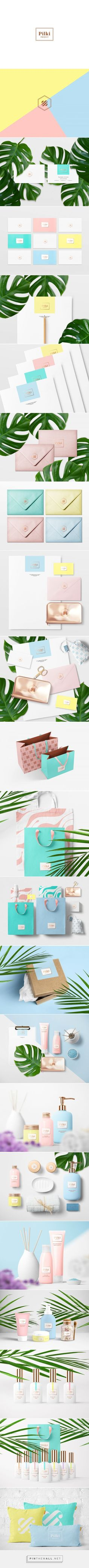 Pilki Nail Care Salon Branding and Packaging by Rina Rusyaeva