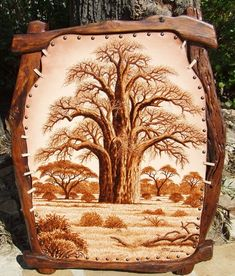 leather art | Hendrik Vrey: Leather Art | The Namibia Guide.com