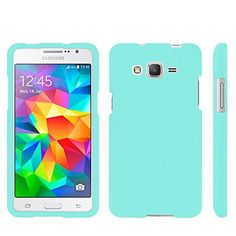 Samsung Galaxy Grand Prime G530 case, Spots8® Hard Plastic Slim Fit [Mint ] Case Covers Compatible with Samsung Galaxy Grand Prime Spots8