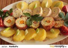 Kuřecí dietní roládičky Potato Salad, Sushi, Potatoes, Treats, Ethnic Recipes, Fitness, Goodies, Gymnastics, Potato
