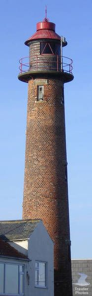 Gorleston (Range Rear) Lighthouse mouth of River Yare Gorleston on sea Norfolk England 52.572078, 1.732267
