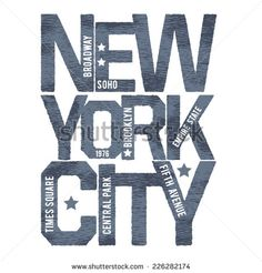 Vintage new york typography, t-shirt graphics, vectors,