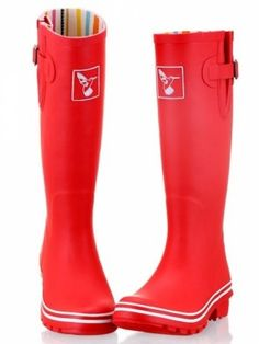 Evercreatures Plain Red Welly
