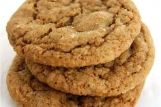 Soft molasses oatmeal cookies