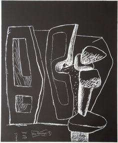 """Le Corbusier (1887-1965) """"série Panurge"""" No 1961/62. 2"""