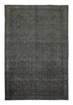 Wool, Hand Knotted, Vintage Overdyed Area Rugs.  100% hand knotted in centeral Anatolia, Istanbul, Turkey.  Wool pile and knotted, cotton warp & weft. All natural fibre.  Old rugs over 50 years. distressed pile.  Unique. one of a kind. double-Turkish knots  Over-dyed by switzerland/Europian high quality dyes which never includes carcinogen chemicals.  Kaiser vintage rugs are generally with geometric and floral design.  Geometrical designs contain traditional Turkish patterns.  It is...