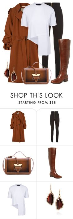 """""""Untitled #669"""" by thecomedian ❤ liked on Polyvore featuring Marni, Balmain, Vince Camuto and Chloe + Isabel"""