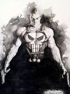 Punisher by Eric Meador // fantastic #punisher #marvel