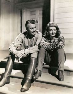 Bette Davis, George Brent in The Great Lie (1941)