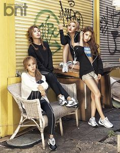 Mamamoo are jaw droppingly sexy, chic & sporty! - Latest K-pop News - K-pop…