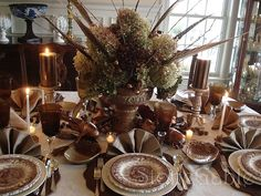 Inspirational Holiday Table Setting & Centerpiece Ideas | Holiday ...