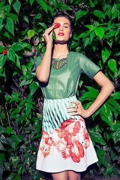 Compre moda com conteúdo. Summer 14 www.oqvestir.com.br Isolda, Print, Tropical, Fashion
