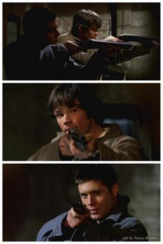 Winchesters and guns just look good together - 1x16 Shadow