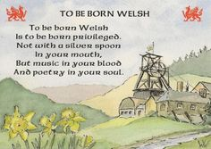 To Be Born Welsh