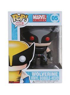 Funko Marvel POP! Wolverine Xforce Costume Exclusive Variant http://popvinyl.net #funko #funkopop #popvinyl