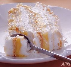 Mamina jela: Torta Bela dolina Torte Recepti, Kolaci I Torte, Baking Recipes, Cookie Recipes, Torta Recipe, Torte Cake, Croatian Recipes, Different Cakes, Desert Recipes
