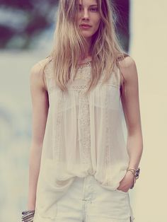 Free People High Neck Candy Tunic, Mex$1663.74