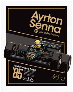 Sean Kane . Ayrton Senna x JPS . Behance https://www.facebook.com/pages/Ayrton-Senna-Tribute-2014/674310202636141