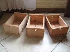 Resultado de imagen para cajoncitos de madera