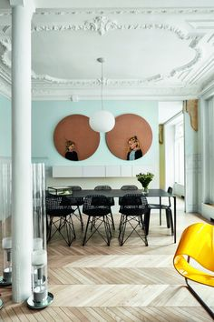 Updated chic: Το διαμέρισμα της σχεδιάστριας κοσμημάτων Virginie Dreyer