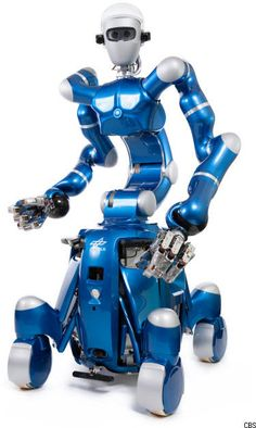 Rollin' Justin the robot impresses humans with its dexterous movements when cleaning windows. One household chore down, 3,000 more to go!