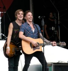 Tom and Danny at Doncaster racecourse in 2011. Funny Flones.