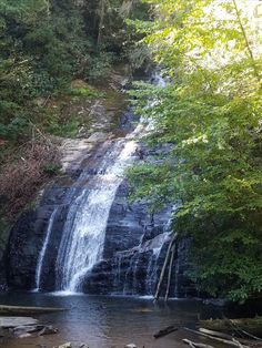 Helton Creek Falls upper fall Blairsville Ga