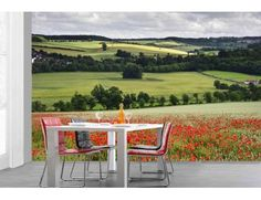 """Mural """"English Country"""". A wall mural from Muralunique.com. https://www.muralunique.com/english-country-12-x-8-366m-x-244m.html"""