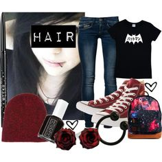 I made this on polyvore :) of you guys have one comment it and I might follow you