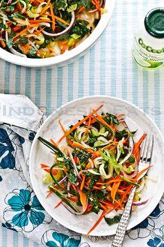 Raw Kale Salad With Nuoc Mam Cham